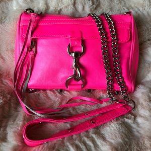 Rebecca Minkoff Hot Pink Crossbody!!